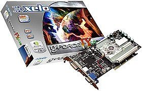 Xelo GeForceFX 5600, 256MB DDR, DVI, TV-out, AGP