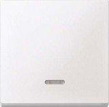 Merten System M Wippe Thermoplast edelmatt, polarweiß (431019)