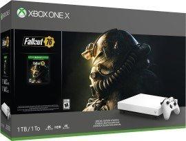 Microsoft Xbox One X - 1TB Fallout 76 Bundle weiß