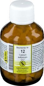 Nestmann Biochemie 12 Calcium sulfuricum D12 Tabletten, 400 Stück