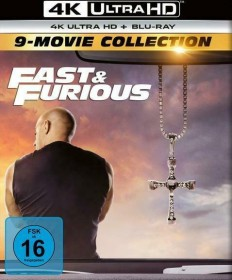 Fast & Furious 9-Movie Collection (4K Ultra HD)