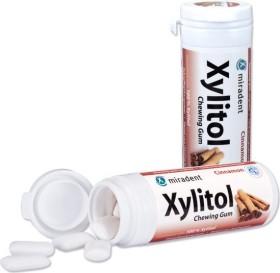 Miradent Xylitol Gum Zimt Zahnpflegekaugummis, 30 Stück