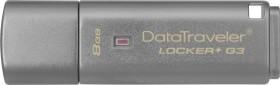 Kingston DataTraveler Locker+ G3 8GB, USB-A 3.0 (DTLPG3/8GB)
