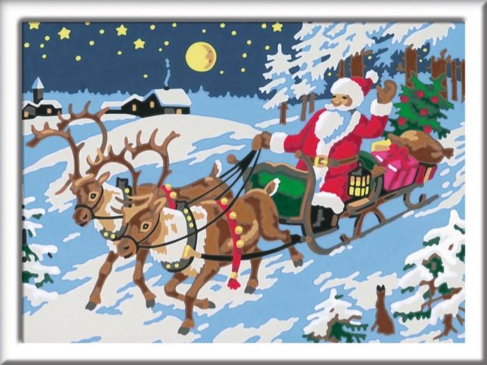 Weihnachten 2019 österreich.Ravensburger Malen Nach Zahlen Frohe Weihnachten 27776