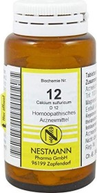 Nestmann Biochemie 12 Calcium sulfuricum D12 Tabletten, 100 Stück