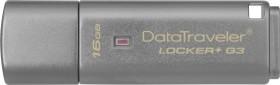 Kingston DataTraveler Locker+ G3 16GB, USB-A 3.0 (DTLPG3/16GB)