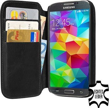 Pedea Book Cover Echtleder für Samsung Galaxy S5 schwarz (11160063) -- via Amazon Partnerprogramm