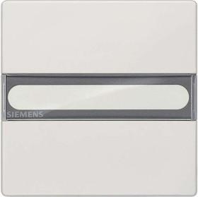 Siemens DELTA style Wippe mit Schild, platinmetallic (5TG7156-1)