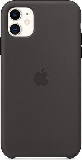 Apple Silikon Case für iPhone 11 schwarz (MWVU2ZM/A)