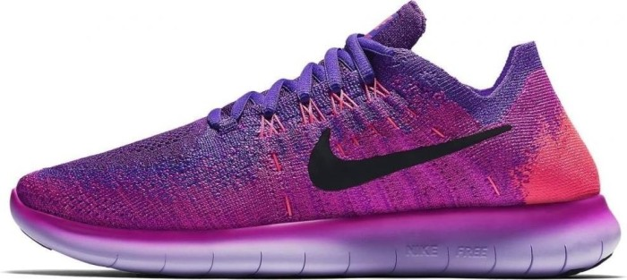 sale retailer cff86 f7dd5 Nike Free RN Flyknit 2017 fire pink/hyper grape/racer pink ...