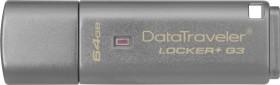 Kingston DataTraveler Locker+ G3 64GB, USB-A 3.0 (DTLPG3/64GB)