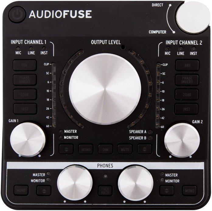 Arturia Audio Fuse Dark Black
