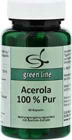 11A Nutritheke Acerola 100% Pur Kapseln, 60 Stück