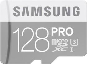 Samsung R90/W80 microSDXC PRO 128GB Kit, UHS-I U3, Class 10 (MB-MG128EA/EU)