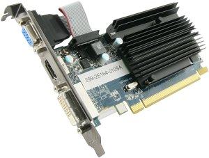 Sapphire Radeon HD 6450 HyperMemory, 512MB DDR3, VGA, DVI, HDMI, lite retail (11190-04-20G)