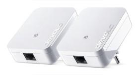 devolo dLAN 1000 mini Starter Kit weiß, HomePlug AV2, RJ-45, 2er-Pack (8147)