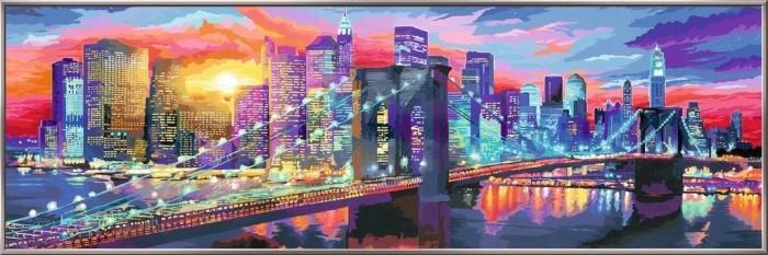Ravensburger Malen Nach Zahlen Leuchtendes New York 28899