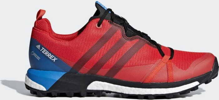 adidas Terrex Agravic GTX hi-res red/core black/bright blue (Herren) (AC7767)