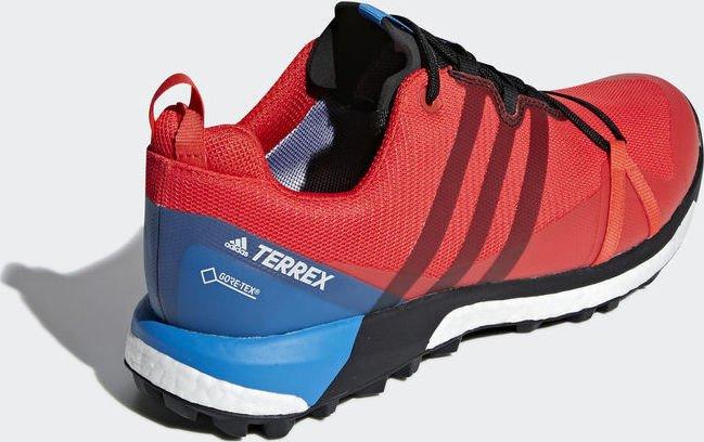 adidas Männer Terrex Agravic GTX Trail Running Schuh hi res redcore blackbright blue AC7767