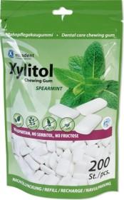 Miradent Xylitol Gum Spearmint Zahnpflegekaugummis, 200 Stück
