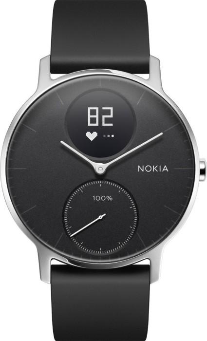 Nokia Steel HR 36mm Aktivitäts-Tracker schwarz