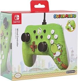 PowerA wired controller Yoshi (switch)
