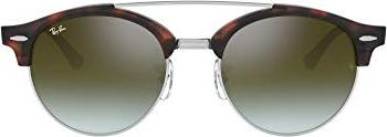 535526fbf47 Ray-Ban Clubround Double Bridge 51mm havana gradient flash (RB4346 62519J  51-