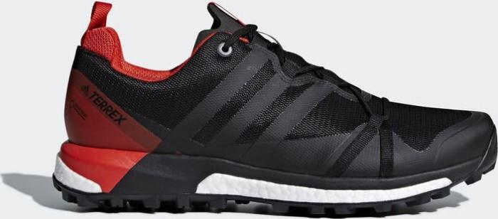 adidas Terrex Agravic GTX core blackcarbonhi res red