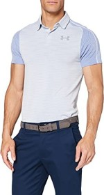 Under Armour Vanish Seamless Polo shirt short-sleeve white/steel (men) (1345458-100)
