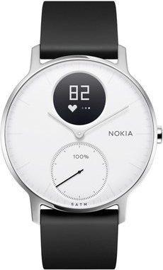 Nokia Steel HR 36mm Aktivitäts-Tracker weiß