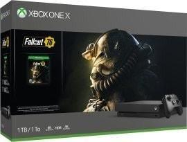 Microsoft Xbox One X - 1TB Fallout 76 Bundle schwarz