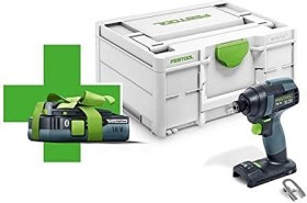 Festool TID 18-Basic 4.0 cordless impact wrench incl. case + rechargeable battery 4.0Ah (577054)