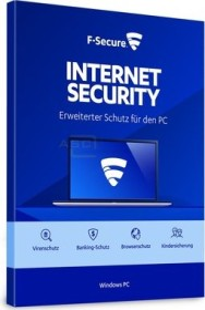 F-Secure Internet Security 2019, 1 User, 2 years, ESD (multilingual) (PC) (FCIPOB2N001G1)