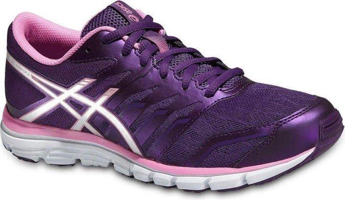 Womens Shoes ASICS Gel-Zaraca 4 Purple/Silver/Flamingo