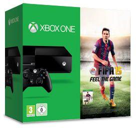 Microsoft Xbox One - 500GB FIFA 15 Bundle schwarz