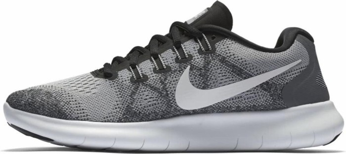 Nike Free RN 2017 wolf grey pure platinum black off white (ladies ... badc07674929