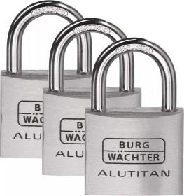 Burg-Wächter Trio 770 40 Alutitan, 6.5mm, 64mm, 3er-Set