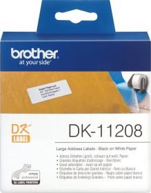 Brother DK-11208 Etiketten, 38x90mm, weiß, 1 Rolle (DK11208)
