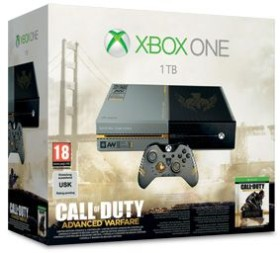Microsoft Xbox One - 1TB Call of Duty: Advanced Warfare Bundle grau/schwarz