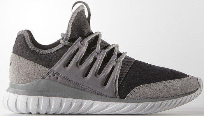 adidas tubular radial solid grey