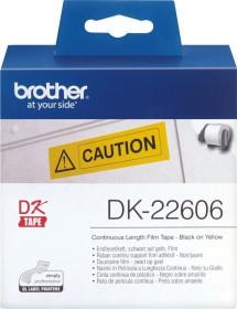 Brother DK-22606 Endlosetikette, 62mm, gelb, 1 Rolle (DK22606)
