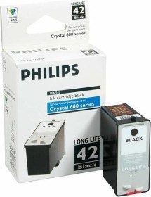 Philips Printhead with ink PFA 542 black high capacity