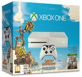 Microsoft Xbox One - 500GB Sunset Overdrive Bundle weiß