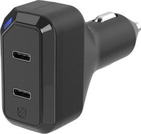 Scosche powerVOLT Dual 3.0 36W USB-C car Charger (CPDC8C8-SP)
