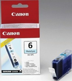 Canon Tinte BCI-6PC/PM cyan photo/magenta photo (4709A018)