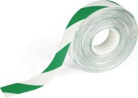 Durable Duraline Strong, Bodenmarkierung Klebeband, grün/weiß, 50mm/30m, 1 Stück (1726131)