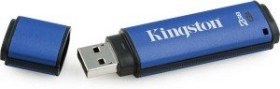 Kingston DataTraveler Vault Privacy Edition Managed 8GB, USB-A 2.0 (DTVPM/8GB)