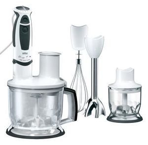 Braun MR570 Pâtisserie Multiquick 5 Stick mixer (MR6550MKFPHC)