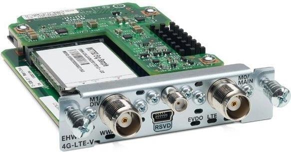 Cisco 4G LTE wireless WAN Card module (EHWIC-4G-LTE-G=)
