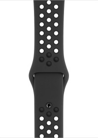 Apple Nike Sportarmband S/M und M/L für Apple Watch 44mm anthrazit/schwarz (MX8E2ZM/A)